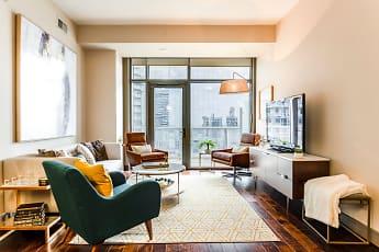 Living Room, Gables Park 17, 1
