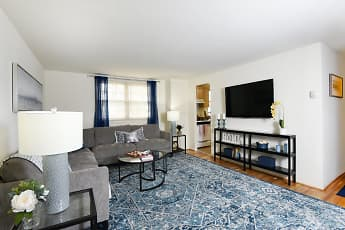 Living Room, Hyde Park Apartments, 0