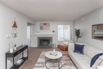 Living Room, Riverbend Apartments, 0