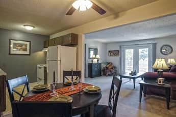 Dining Room, Maple Ridge Apartments, 1