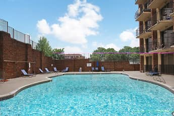 Pool, District At West Market Apartments, 1