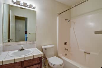 Bathroom, Peppertree Apartments, 2