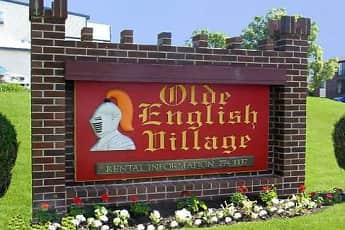 Community Signage, Olde English Village Apartments, 0