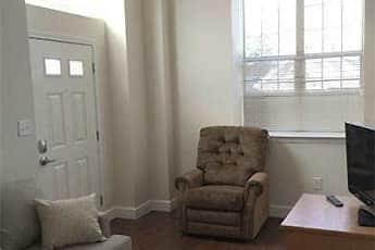 Living Room, Jefferis Square Apartments, 1