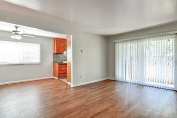 Living Room, Carmel Park Apartments, 0