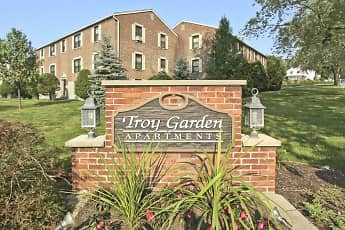 Community Signage, Troy Gardens Apartments, 2