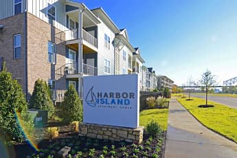 Community Signage, Harbor Island, 2