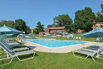Pool, Powder Mill Apartments, 0