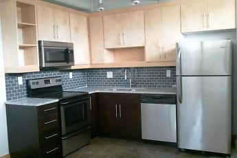 Kitchen, Star Lofts, 0