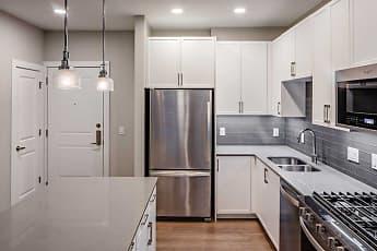 Kitchen, Avalon Teaneck, 1