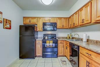 Kitchen, Birnam Wood Apartments, 0