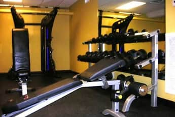 Fitness Weight Room, Village South Apartments, 0