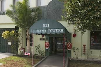 Leasing Office, Serrano Towers, 1