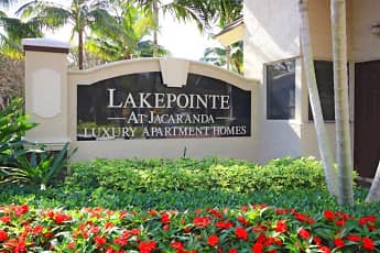 Community Signage, Lakepointe at Jacaranda Apartments, 0