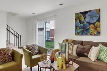 Living Room, Westgate Apartments, 0