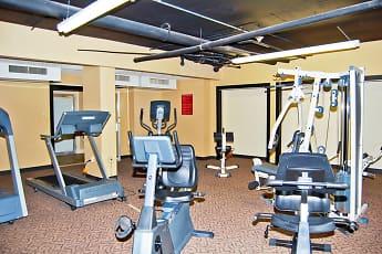 Fitness Weight Room, Idlewild 45, 2