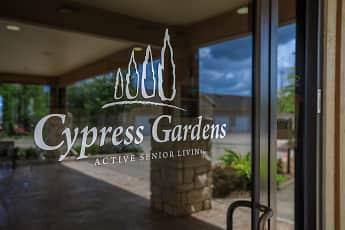 Community Signage, Cypress Garden 55 + Community, 0