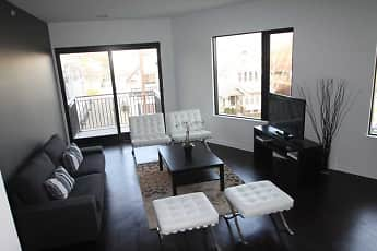 Living Room, Dwell Bay View, 0