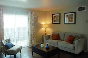Living Room, Aviare Place Apartments, 2