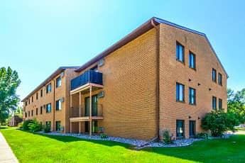 Building, Landeco Lane Apartments, 1