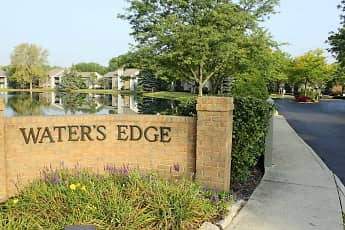 Community Signage, Waters Edge Luxury Apartments, 2