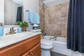 Bathroom, Walnut Tower, 2