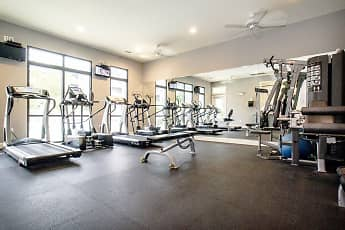 Fitness Weight Room, Providence Trail, 2