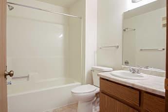 Bathroom, Roland Lane Apartments, 2