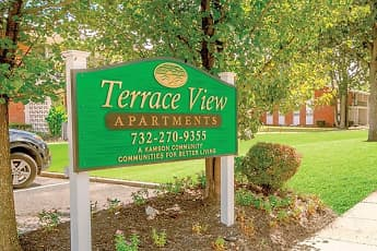 Community Signage, Terrace View Apartments, 0