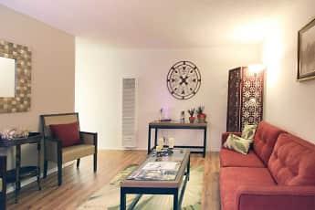 Living Room, Casa Flores Apartments, 0