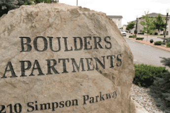 Community Signage, Boulders Apartments, 0