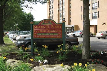 Community Signage, Martin D. Popky, B'nai B'rith Senior Apartments, 2