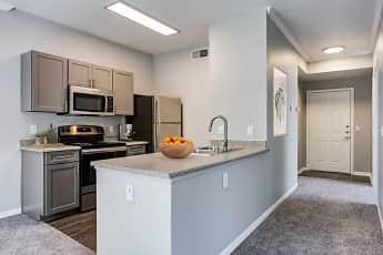 Kitchen, Miramonte and Trovas Apartments, 1