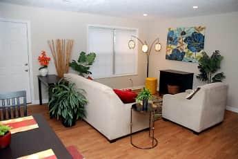 Living Room, Hidden Hills at Oakdale, 0