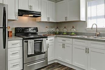 Kitchen, Latitude 2976 Apartments, 0
