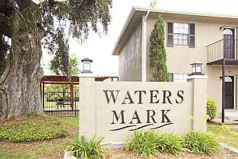 Community Signage, Waters Mark Apartments, 0