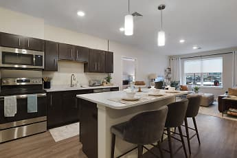Kitchen, The Residences at Executive Park, 1