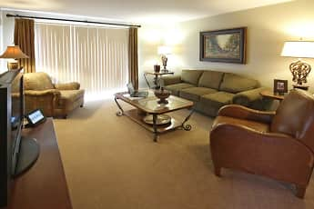 Living Room, Brittany Court, 1