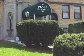 Community Signage, Plaza Apartments, 1