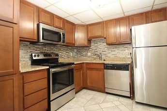 Kitchen, Bellevue Apartments, 0