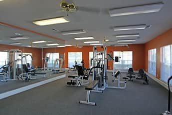 Fitness Weight Room, The Landings at Houston Levee, 2