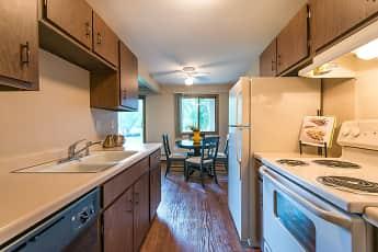 Kitchen, Willoway Apartments, 0