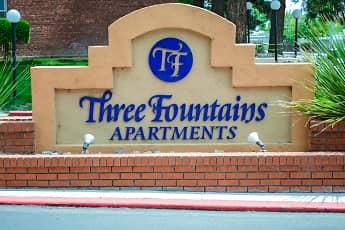 Community Signage, Three Fountains, 2