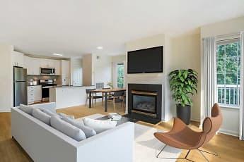 Living Room, Avalon Tysons Corner, 1