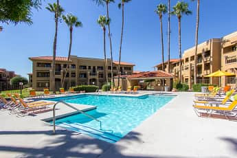 Pool, Zona Rio Apartments, 0
