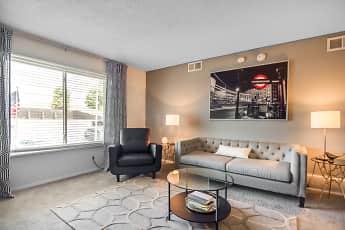 Living Room, Nori Apartments, 0