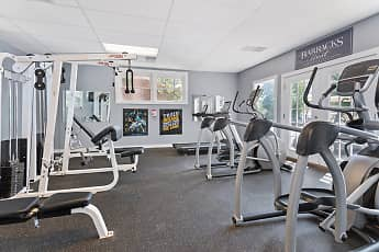 Fitness Weight Room, Barracks West Apartments, 2