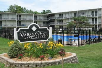 Community Signage, Cabana West Apartments, 0