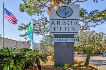 Community Signage, Arbor Club, 2