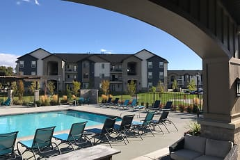 Pool, Claradon Village Apartments, 1